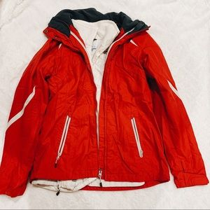 Very Warm Columbia Dual Layer Red Winter Jacket
